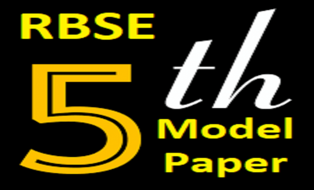 Raj 5th Model Paper 2021 Blueprint Ajmer Board 5th Question Paper 2021