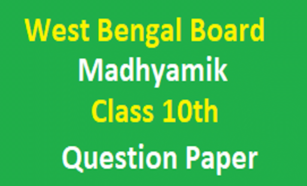 ABTA 10th Question 2021 West Bengal 10th Class Model Paper 2021 WBBSE Madhyamik Previous Paper 2021